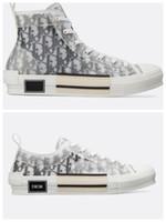 nuevo arte de la moda al por mayor-2020 New B23 Flowers Obliques Tess Leisure Plataforma de diseñador de moda de lujo Triple S Zapatillas Hombre Mujer Vintage Trainer Zapatillas deportivas