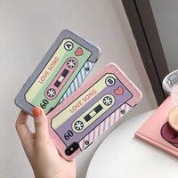 iphone tonband großhandel-Persönlichkeit Bänder sind geeignet für 8plus Apple X Handy Fall XS MAX / XR / iphone 7p / 6s Soft Case Frauen