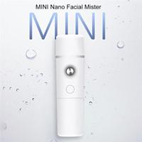 ingrosso nano viso facciale nebbia-Nano facciale Mister portatile Mini Face Mist Handy spruzzatore atomizzazione Estensioni delle ciglia Cool Steamer facciale 2019 Nuovo arrivo