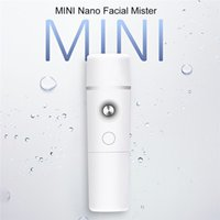 mini vaporizador facial nano al por mayor-Nano Facial Mister Portable Mini Face Mist Rociador práctico Atomización Extensiones de pestañas Cool Facial Steamer 2019 Nueva llegada