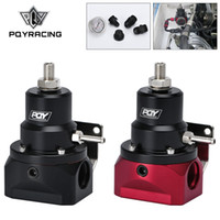 Wholesale AN10 PQY EFI Fuel Pressure Regulator psi Gauge AN Inlet Return Ports For BMW E30 M20 cy with PQY sticker PQY