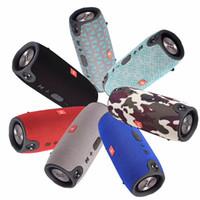 meilleurs haut-parleurs bluetooth portables achat en gros de-Sans fil Meilleur Bluetooth Haut-Parleur Étanche Portable Extérieur Subwoofer Son Extérieur Conception pour Téléphone PC Haut-parleurs Portatifs