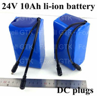 Wholesale 1 pack EU US Customized V ah lithium li ion battery pack for DC plug power tool camera led lights w w v A charger