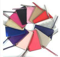 concepteurs de portefeuille femmes achat en gros de-portefeuilles de designer de marque wristlet femmes sacs à main sacs à main d'embrayage zipper pu poignets design