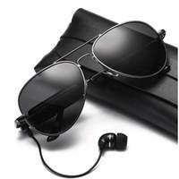 Wholesale headphones headset sport mp3 player resale online - Smart Sunglasses Wireless Bluetooth sunglasses Sports headphones MP3 player Bluetooth mobile phone wireless headset Bluetooth glasses lenses