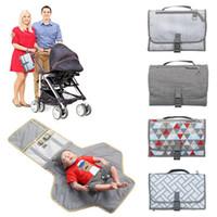 ingrosso stazione di tasca-Fasciatoio portatile per neonato - Passeggino leggero da viaggio con tappetini multifunzione