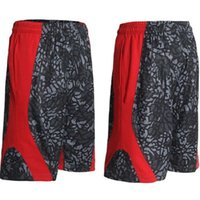 bermuda calções venda venda por atacado-Basquetebol Curto Moda 2016 Marca KD Kevin Durant Hot BD Baggy Bermuda Masculino solto Executa Shorts de homens ativos Plus Size venda quente 3XL
