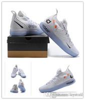 zapatillas kevin durant al por mayor-Nuevos zapatos OG KD 11 Zapatos de baloncesto Kevin Durant 11s hombres corriendo Zapatos deportivos de lujo blancos KD EP Elite Sport Sneakers danstore venta