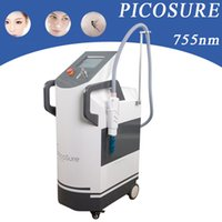 Wholesale yag machines online - pico laser vertical q switch nd yag laser removal scars tattoo remove picosecond machine korea pico q switch picosure beauty equipment