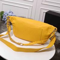 große brust frau großhandel-New Fashion Designer Women Handtaschen Strap Crossbody Taschen Echtes Leder Große Brusttasche Hochwertige Umhängetaschen Pruse Tote Taschen Handtaschen