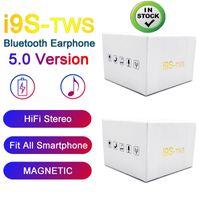 iphone pop telefonu toptan satış-Kutu Kablosuz Bluetooth Kulaklık Şarj ile IOS Android Telefon için pop-up pencere Stereo TWS kulaklıklarla I9S tws 5.0 Kulaklık Kulaklık