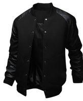 reine lange jacke großhandel-ZOGAA 2019 NEUE Männer Jacke Große Tasche Schlanke Hip Hop Baseball Jacke Designer Langhülse Pure Color Herren Windjacke Jacken