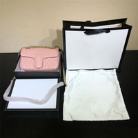 Wholesale purses over shoulder bags resale online - Fashion Women s Leather Letter Color Wide Shoulder Strap Shoulder Bag diagonal small square bag handbag designer luxury handbags purses