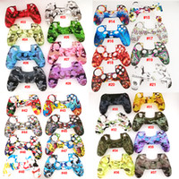 Wholesale soft gel case for sale – best Colorful gamepad Soft Silicone Gel protective Case For PS4 Wireless Controller