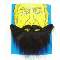 Wholesale fashion cloth female for sale - Group buy Funny Flannel Fake Beard Halloween Prom Prop Male And Female Fashion Moustache Non Slip Anti Wear New Arrival fq I1