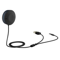 Wholesale play speaker resale online - Dual Link Bluetooth handsfree Aux mm USB Car Auto kit Wireless music receiver stereo speaker audio adapter plug to play