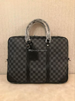 Wholesale laptop briefcase online - 11 Inch Laptop Sleeve Briefcase Water Repellent Handbag For Macbook Air Pro Surface Ipad Dell Hp Chromebook Carrying Case Notebook Bag