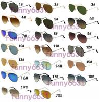 radfahren sonnenbrille verkauf großhandel-HEISSER VERKAUF Sommer GOGGLE Mann UV400 Schutz Sonnenbrillen arbeiten Mannfrauen Sonnenbrilleunisexgläser radfahrengläser 20colors freies Verschiffen um