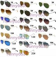 gafas de sol para sol caliente al por mayor-VENTA CALIENTE verano GOGGLE hombre protección UV400 gafas de sol Moda hombres mujeres Gafas de sol gafas unisex gafas ciclismo 20 colores envío gratis