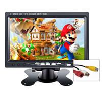 polegada pc monitor venda por atacado-7 polegadas mini portátil hd lcd TFT CCTV tela de segurança monitor do carro 10.1