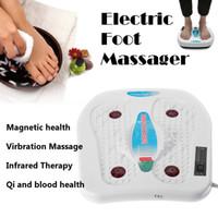 ingrosso calore del massaggio del vibratore-220 V Vibratore elettrico Relxation Massager del piede Agopuntura a infrarossi Terapia del calore Rilassante Affaticamento Impastare Macchina massaggiatore
