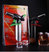 1300'C Metal Dab Jet Butane Torch Lighter Windproof Jet Flames Micro Butane Torch Lighter Professional Kitchen Torch Lighter Brulee Culinary