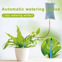bitki su poşetleri toptan satış-2L Bitki Sulama Çanta Damlayan Çiçek Kapalı Gerçek Saksı Bitki Bahçe Açık Sulama Çanta Tembel Dikim Veranda Plastik