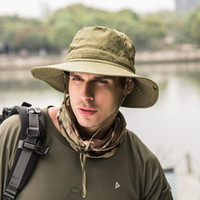 Wholesale men's sun hats for sale - Group buy Men s Sun Protection Hat Hiking Hat Outdoor Folding Summer Quick drying Fisherman Sun Hiking