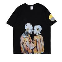 mejores camisas de los hombres al por mayor-2019 Asap Rocky Hered Tour Merch T shirt Hombres Mujeres Mejor Calidad Estilo de Verano Top Tees Camisetas de manga corta