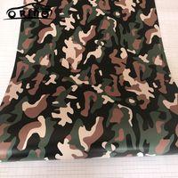 voiture couleur armée achat en gros de-Armée Vert Camouflage Vinyle Film Autocollant Autocollant Vinyles Film Noir Vert Camouflage Enveloppement De Voiture Pour La Voiture Emballage De La Bulle D'air Gratuit