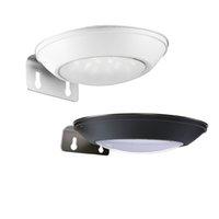 luz de segurança conduzida ao ar livre sem fio venda por atacado-Lâmpada solar Sensor de Movimento Wall Light 16 LED Super Bright Garden iluminação IP65 Segurança Wireless Outdoor