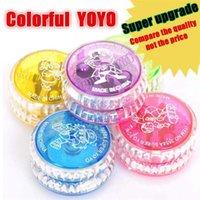 ingrosso torni cnc-Tornio a controllo numerico Yo-yo in lega di alluminio ad alta velocità reattivo a incandescenza a LED con bagliore magico con filatura per ragazze