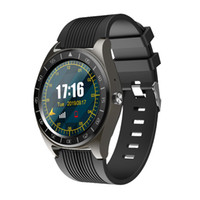 sincronização bluetooth venda por atacado-Bluetooth relógio inteligente V5 Com Câmera Facebook Whatsapp Twitter sincronização SMS Homens Smartwatch Suporte SIM TF para iOS Android PK DZ09 A1