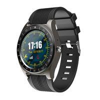 akıllı saat android senkronizasyonu toptan satış-Bluetooth Smart İzle V5 ile Kamera Facebook Whatsapp Twitter Sync SMS Erkekler Smartwatch Destek SIM TF Kart İçin IOS Android PK DZ09 A1