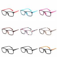 gafas de ordenador de las mujeres al por mayor-Moda Anti-azul Protección de Anteojos Gafas de ojos de computadora Marcos Mujeres Hombres Retro Espejo Plano Marco Gafas Ópticas Gafas RRA1144