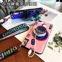 ingrosso galassia della cordicella-3D Retro Camera phone cordino Case designer di lusso Per Iphone X XR XS MAX 6 S 7 8 Plus Samsung Galaxy S8 S9 s10 e Huawei Case cover