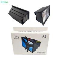 cep telefonu ekran filmi toptan satış-Cep Telefonu Video Ekran Büyüteç Amplifikatör Genişletici Akıllı Telefon için 3D Film Ekran Telefon Ekran Büyüteç için Standı Tutucu