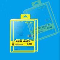 ipad verpackung großhandel-Mode gelb klar 10 zoll kunststoff einzelhandel verpackung box für ipad 9,7 zoll 2018 fall für ipad air 3 4 ledertasche