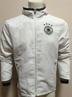 futbol takımları toptan satış-moda ucuz Erkekler Futbol Tracksuits Kapşonlu rüzgarlık Ceket Üniformalar kitleri Spor Resmi elbiseler forması Eşofman erkekler Futbol aşınma