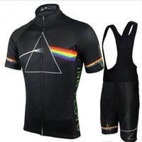 camisa de ciclismo rosa para homem venda por atacado-2018 Pink Floyd Conjuntos de Ciclismo Homens MTB Camisas de Bicicleta Respirável Roupas Kits Quick Dry Sport Tops Ciclismo Jerseys XS-5XL