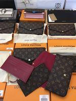 ingrosso carte di goccia-DROP SHIP New Genuine Leather Leather Chain Shoulder Bags Presbite Mini Portafogli Mobile Card Holder modello M61266
