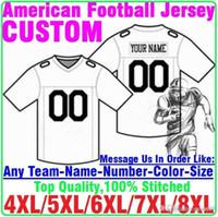 американский футбол оптовых-Пользовательского футбол Джерси американского футбола колледж США лед Хоккей Баскетбол Бейсбол Джерси Детские Молодёжные женщины Mens дети