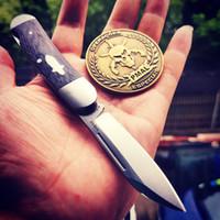 cuchillo plegable de porcelana al por mayor-60HRC navaja de bolsillo VG10 cuchillos plegables Tactical survival Camping back lock carpeta Colección de herramientas de alta calidad BROTHER 1503