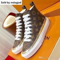 zapatos de tobillo para mujer zapatos planos al por mayor-Stellar Sneaker Boot Womens Lace Up Flats Sneakers tobillo botines de mujer zapatos de diseñador casual clásico zapato de cuero Zx9