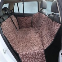 Wholesale dog car blankets for sale - Group buy Pet Dog Car Seat Cover Pad with Seatbelt Pet Rear Seat Cushion Mat Blanket Hammock Safe Dog Car Back Protector Waterproof