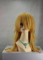 Wholesale life wigs for sale - Group buy WIG AZ46 NEW NO GAME NO LIFE Shiro Long Yellow Anime Cosplay Wig
