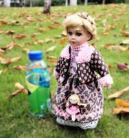 ingrosso bambole congelate-Porcelain Mengwa Collection Dolls and Girls'Hearts Simpatiche bambole in ceramica su ragazze russe congelate da matrimonio con bambole da regina