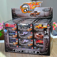 Wholesale diecast toy trucks online - Diecast Model Car Toys Vehicle Baby Mini Cars Plane Trucks Helicopter Police Ambulance Fire Military Toys