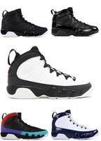 melhor sapatilha de basquete para homens venda por atacado-2019 9 S criados UNC 9 Sonhe, It It Men tênis de basquete melhor qualidade trainer sneaker shoes tamanho eur 41-47 frete grátis