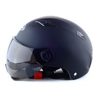 mehrfarbige motorradhelme großhandel-Nuoman328 Motorrad Helm Roller Offenes Gesicht Halbe Baseballmütze Anti-Uv-Sicherheit Hard Hat Motocross Helm Mehrere Farbe Schützen Casque De Mo